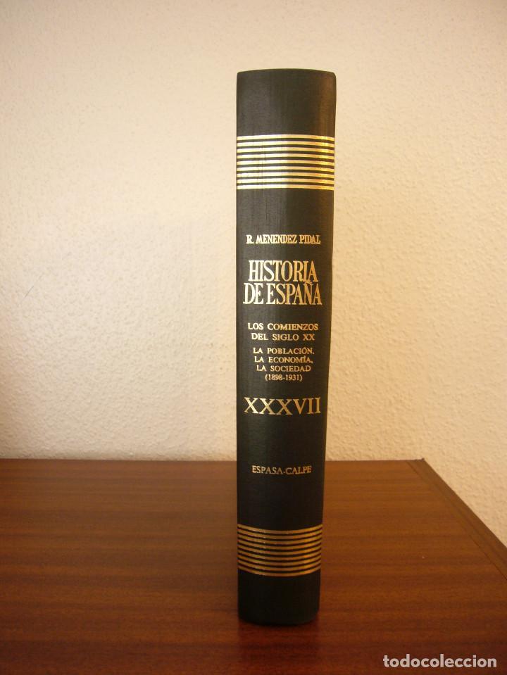 Libros de segunda mano: HISTORIA DE ESPAÑA VOL. XXXVII (ESPASA CALPE, 1984) RAMÓN MENÉNDEZ PIDAL (DIR.) - Foto 11 - 150652602