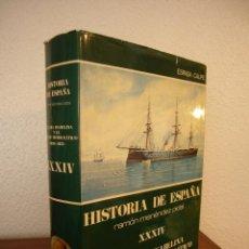 Libros de segunda mano: HISTORIA DE ESPAÑA VOL. XXXIV (ESPASA CALPE, 1981) RAMÓN MENÉNDEZ PIDAL (DIR.). Lote 150653250