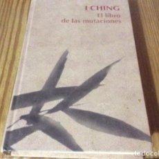 Libri di seconda mano: I CHING. EL LIBRO DE LAS MUTACIONES. RBA. Lote 150694198