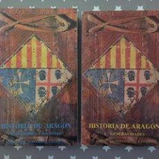 Libros de segunda mano: HISTORIA DE ARAGON 2 TOMOS, INSTITUCION FERNANDO EL CATOLICO. Lote 150694502