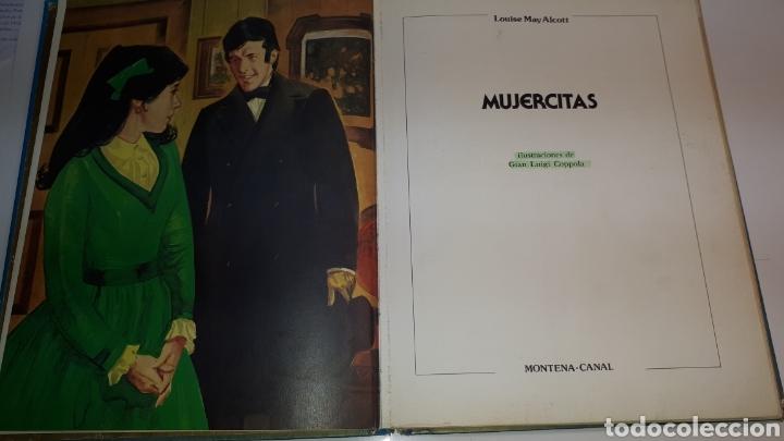 Libros de segunda mano: CUENTOS JUVENILES MUJERCITAS - LOUISE MAY ALCOTT ILUSTRADA 1982 EDICIONES MONTENA LA ROSA DE ORO - Foto 2 - 150719270
