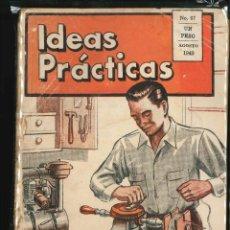 Libros de segunda mano: IDEAS PRACTICAS . Lote 150743478