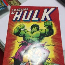 Libri di seconda mano: EDICIONES MONTENA LA CÓLERA DE HULK 1981. Lote 150759806