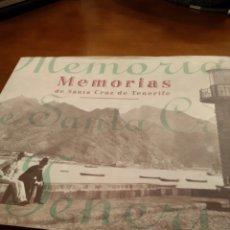 Libros de segunda mano: MEMORIAS DE SANTA CRUZ DE TENERIFE. Lote 150814929