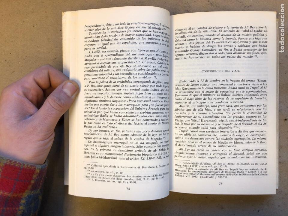 Libros de segunda mano: VIAJES POR MARRUECOS. ALI BEY. EDITORA NACIONAL 1985. 432 PÁGINAS. ILUSTRADO. - Foto 4 - 150947297