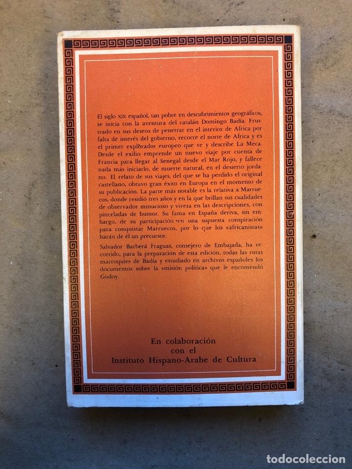 Libros de segunda mano: VIAJES POR MARRUECOS. ALI BEY. EDITORA NACIONAL 1985. 432 PÁGINAS. ILUSTRADO. - Foto 8 - 150947297