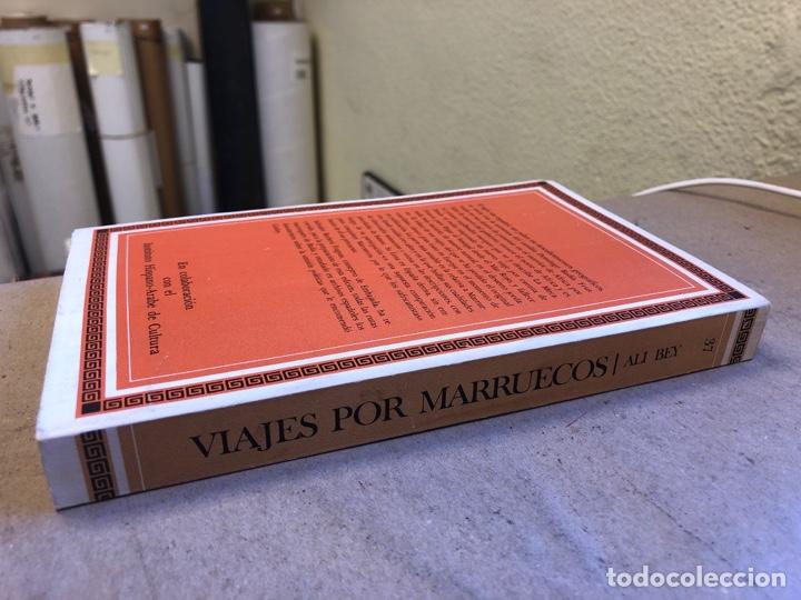 Libros de segunda mano: VIAJES POR MARRUECOS. ALI BEY. EDITORA NACIONAL 1985. 432 PÁGINAS. ILUSTRADO. - Foto 9 - 150947297