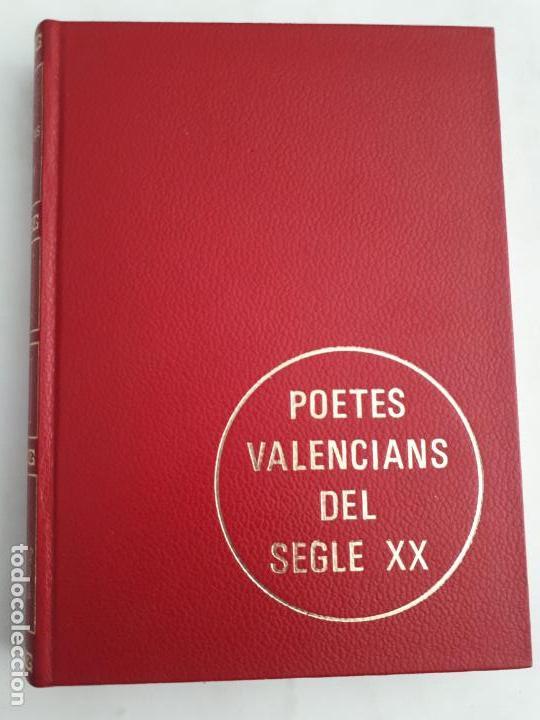 LIBRO AÑOS 70 - NUEVO SIN USO - POETES VALENCIANS DEL SEGLE XX (Libros de Segunda Mano - Historia - Otros)
