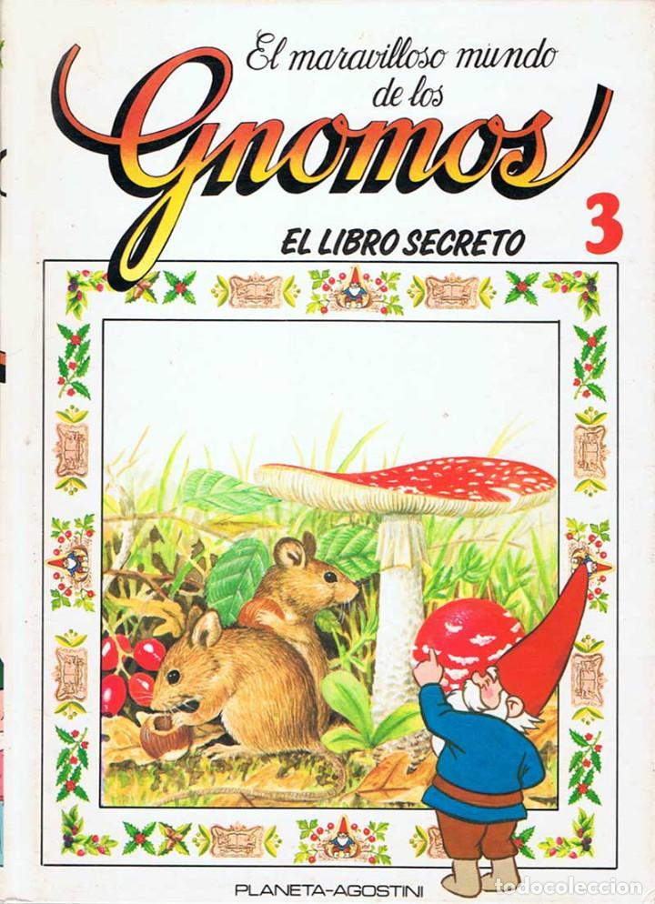 EL MARAVILLOSO MUNDO DE LOS GNOMOS VOL. 3. EL LIBRO SECRETO. PLANETA-AGOSTINI (Libros de Segunda Mano - Literatura Infantil y Juvenil - Otros)