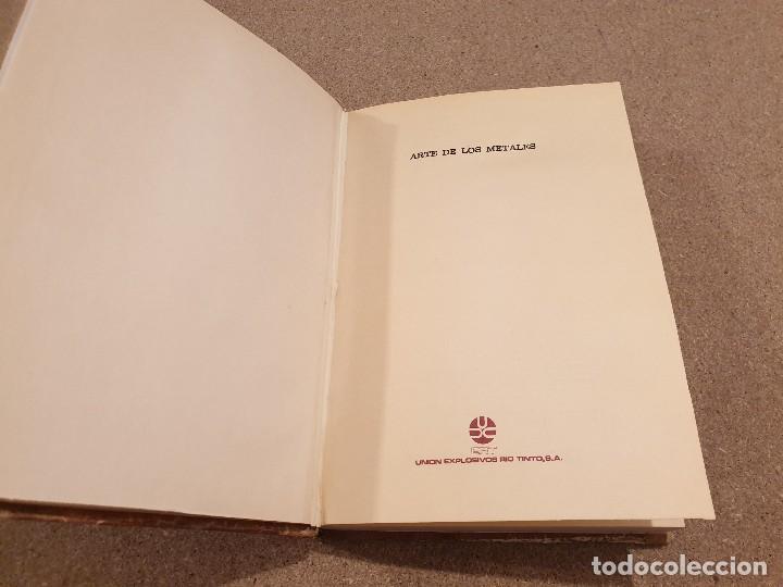Libros de segunda mano: ARTE DE LOS METALES... FACSIMIL DEL LIBRO ORIGINAL DE 1540.........1977... - Foto 3 - 150950914