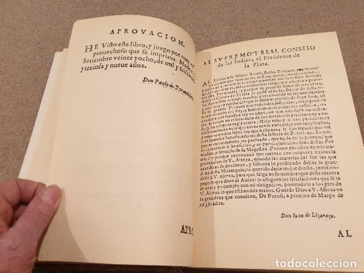 Libros de segunda mano: ARTE DE LOS METALES... FACSIMIL DEL LIBRO ORIGINAL DE 1540.........1977... - Foto 9 - 150950914