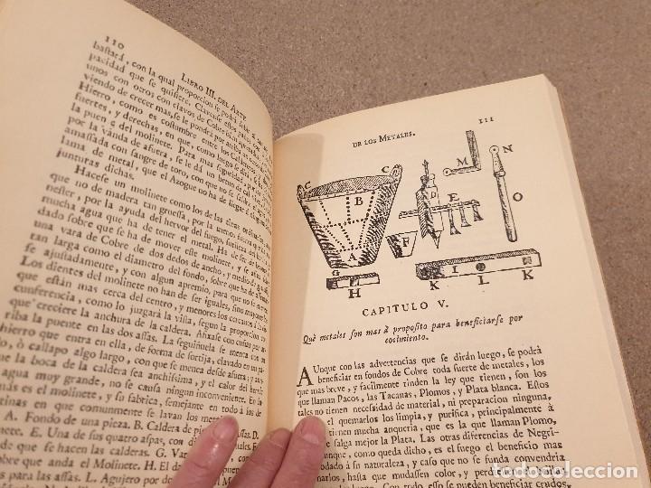 Libros de segunda mano: ARTE DE LOS METALES... FACSIMIL DEL LIBRO ORIGINAL DE 1540.........1977... - Foto 14 - 150950914