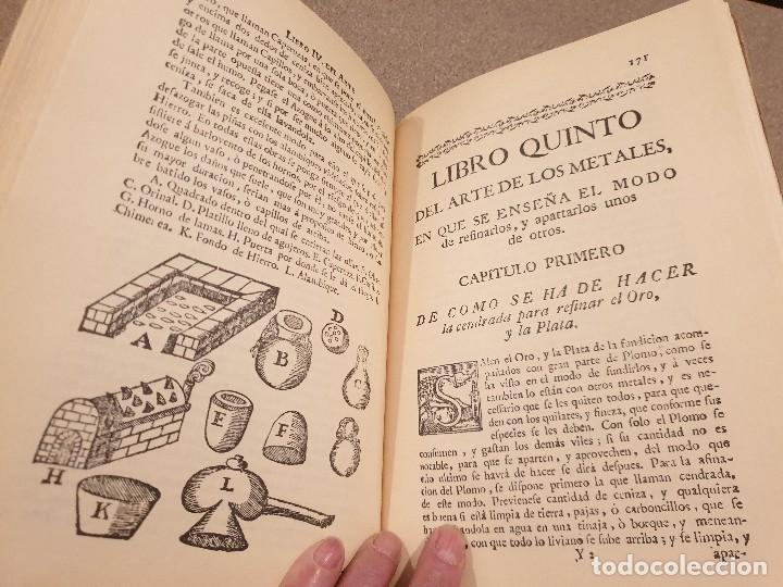 Libros de segunda mano: ARTE DE LOS METALES... FACSIMIL DEL LIBRO ORIGINAL DE 1540.........1977... - Foto 19 - 150950914