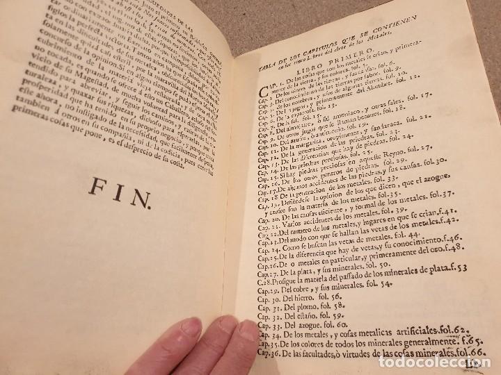 Libros de segunda mano: ARTE DE LOS METALES... FACSIMIL DEL LIBRO ORIGINAL DE 1540.........1977... - Foto 21 - 150950914