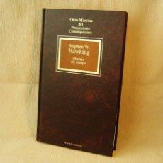 Livros em segunda mão: LIBRO HISTORIA DEL TIEMPO. STEPHEN W. HAWKING. Lote 150984978