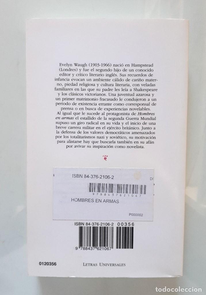 Gebrauchte Bücher: EVELYN WAUGH / HOMBRES EN ARMAS / CÁTEDRA 2003 (1ª EDICIÓN) LETRAS UNIVERSALES - Foto 2 - 150986334