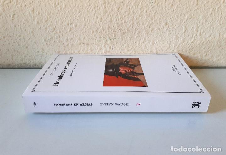 Gebrauchte Bücher: EVELYN WAUGH / HOMBRES EN ARMAS / CÁTEDRA 2003 (1ª EDICIÓN) LETRAS UNIVERSALES - Foto 3 - 150986334