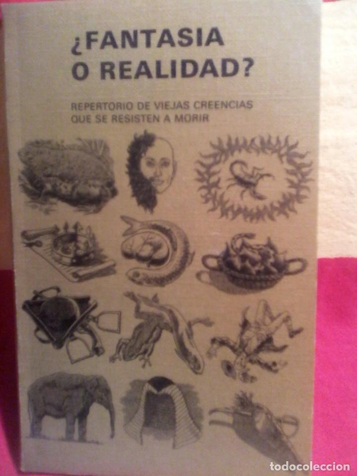 FANTASIA O REALIDAD - SELECCIONES DEL READERS DIGEST . (Libros de Segunda Mano - Ciencias, Manuales y Oficios - Otros)