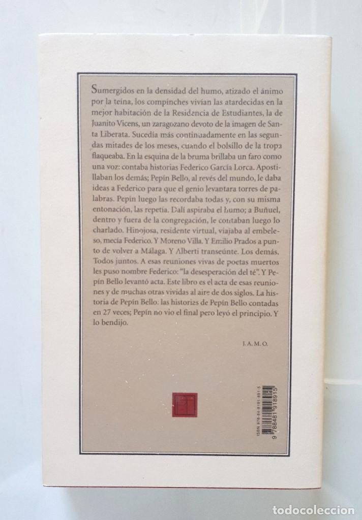 Gebrauchte Bücher: JOSÉ ANTONIO MARTIN OTÍN (PETÓN) / LA DESESPERACIÓN DEL TÉ (27 VECES PEPÍN BELLO) / PRE-TEXTOS 2001 - Foto 2 - 150986714