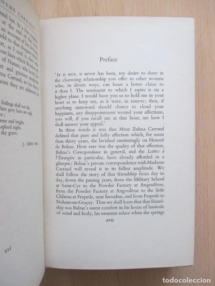 Libros de segunda mano: The unpublished Correspondence of Honoré de Balzac and Madame Zulma Carraud (1820 – 1830) - Foto 10 - 150986806