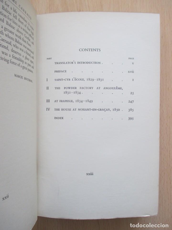 Libros de segunda mano: The unpublished Correspondence of Honoré de Balzac and Madame Zulma Carraud (1820 – 1830) - Foto 11 - 150986806