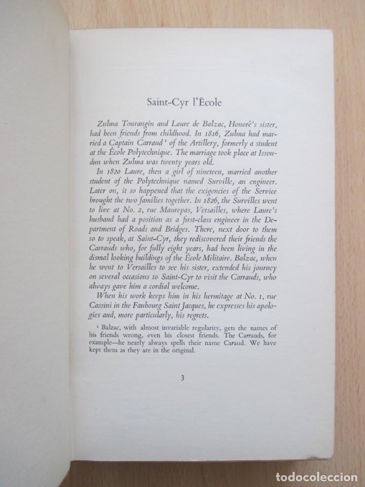 Libros de segunda mano: The unpublished Correspondence of Honoré de Balzac and Madame Zulma Carraud (1820 – 1830) - Foto 12 - 150986806