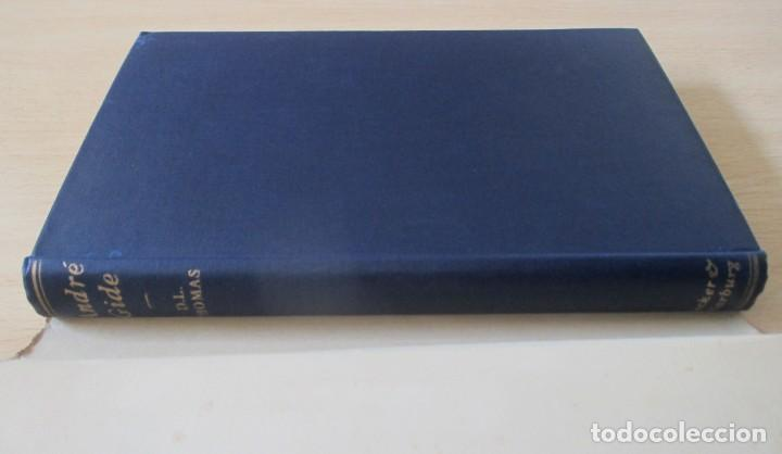 Libros de segunda mano: André Gide – The Ethic of the Artist, de D. Lawrence Thomas - Foto 6 - 150987114