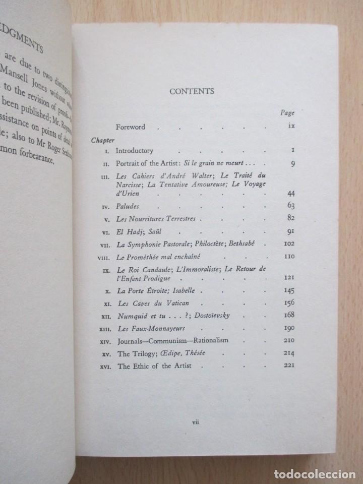 Libros de segunda mano: André Gide – The Ethic of the Artist, de D. Lawrence Thomas - Foto 9 - 150987114