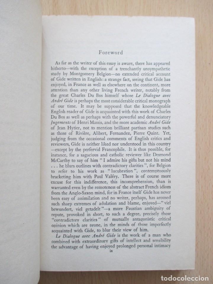 Libros de segunda mano: André Gide – The Ethic of the Artist, de D. Lawrence Thomas - Foto 10 - 150987114