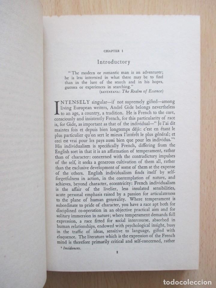 Libros de segunda mano: André Gide – The Ethic of the Artist, de D. Lawrence Thomas - Foto 11 - 150987114