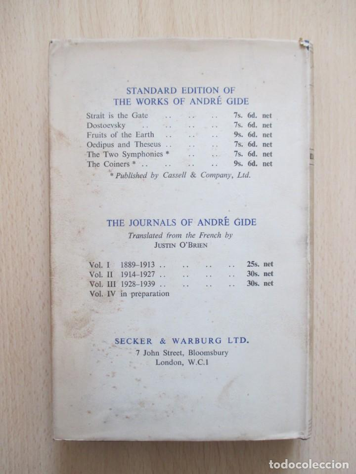 Libros de segunda mano: André Gide – The Ethic of the Artist, de D. Lawrence Thomas - Foto 12 - 150987114
