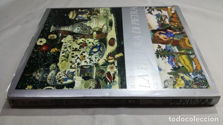 LA PITTURA DI PIETRA - FERDINANDO ROSSI - GIUNTI -MOSAICO - ESCULTURA -INCRUSTACIONES - PIEDRA (Libros de Segunda Mano - Bellas artes, ocio y coleccionismo - Otros)