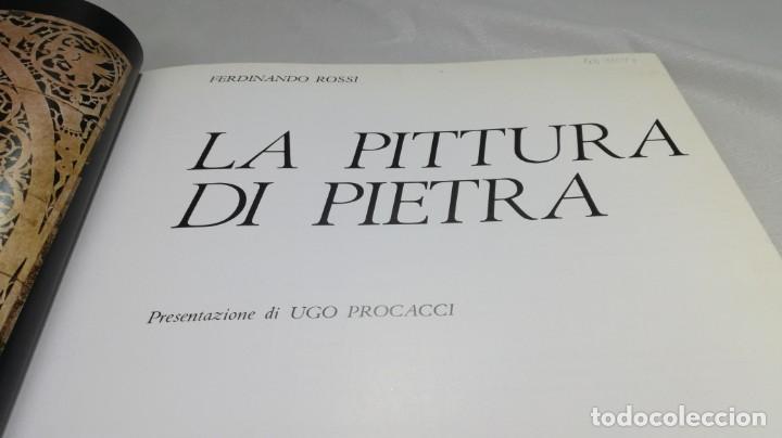 Libros de segunda mano: LA PITTURA DI PIETRA - FERDINANDO ROSSI - GIUNTI -MOSAICO - ESCULTURA -INCRUSTACIONES - PIEDRA - Foto 6 - 151043006