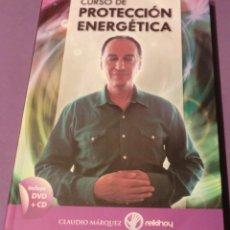 Libros de segunda mano: CURSO DE PROTECCIÓN ENERGÉTICA - CLAUDIO MÁRQUEZ (LIBRO NUEVO. SALIDO DE IMPRENTA) (DVD+CD)[AGOTADO]. Lote 151052174