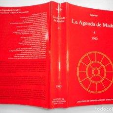 Libros de segunda mano: SATPREM LA AGENDA DE MADRE (TOMO 4 ) 1963 Y92482-1. Lote 151080158