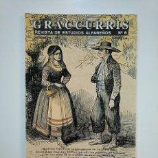 Libros de segunda mano: GRACCURRIS. REVISTA DE ESTUDIOS ALFAREÑOS. Nº 6. ALFARO. LA RIOJA. 1997. TDK363. Lote 151096794
