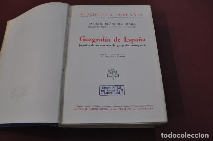 Libros de segunda mano: geografía de españa - agustín blánquez fraile - biblioteca hispania - HUB - Foto 2 - 151199566