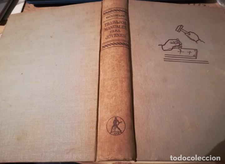 TRABAJOS MANUALES PARA JÓVENES - RUDOLF WOLLMANN - 1966 (Libros de Segunda Mano - Ciencias, Manuales y Oficios - Otros)