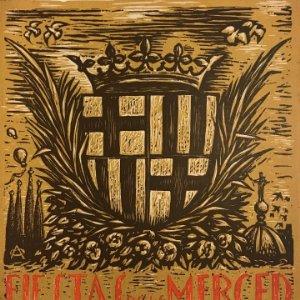 1959 Fiestas de la Merced. Barcelona. Ilustraciones E.Mora. Xilografías Ollé Pinell. 17,3x20,6 cm