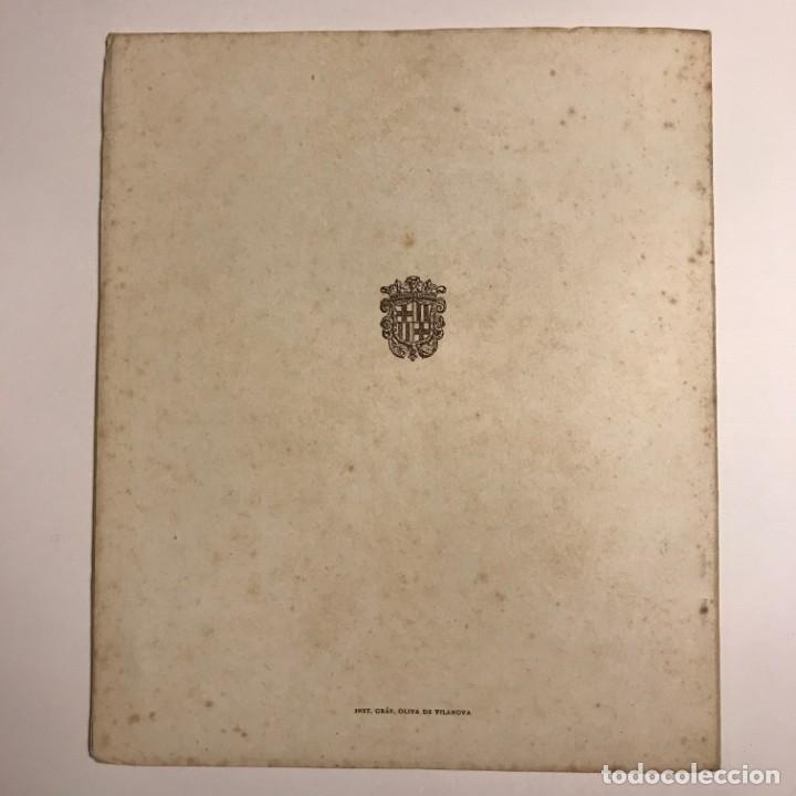 Libros de segunda mano: 1959 Fiestas de la Merced. Barcelona. Ilustraciones E.Mora. Xilografías Ollé Pinell. 17,3x20,6 cm - Foto 4 - 151354426