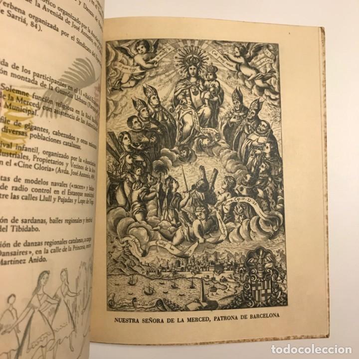 Libros de segunda mano: 1959 Fiestas de la Merced. Barcelona. Ilustraciones E.Mora. Xilografías Ollé Pinell. 17,3x20,6 cm - Foto 5 - 151354426