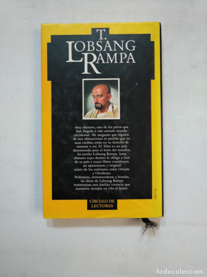 Libros de segunda mano: EL MEDICO DE LHASA. T. LOBSANG RAMPA. CIRCULO DE LECTORES. TDK366 - Foto 2 - 151386326