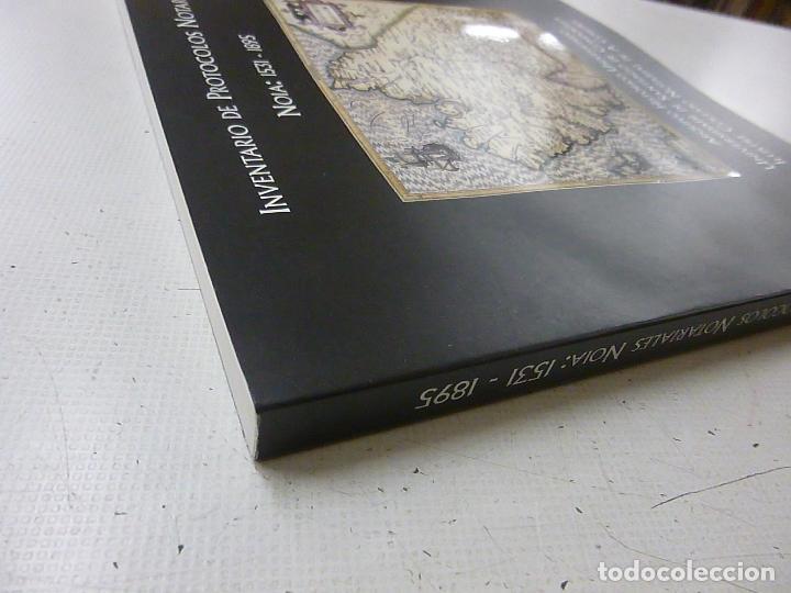 Libros de segunda mano: INVENTARIO DE PROTOCOLOS NOTARIALES NOIA 1531-1895 -P 1 - Foto 2 - 151413498