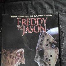Libros de segunda mano: GUIA OFICIAL DE LA PELICULA FREDDY VS.JASON. Lote 151425098