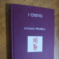 Libri di seconda mano: RICHARD WILHELM, I CHING. Lote 151455006
