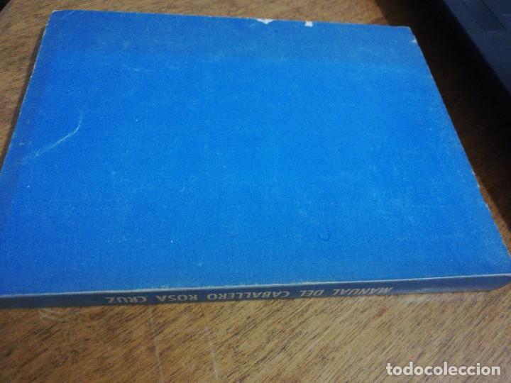 Libros de segunda mano: Manual del caballero rosa cruz - Foto 2 - 151457122