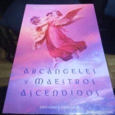 Libros de segunda mano: ARCANGELES Y MAESTROS ASCENDIDOS-DOREEN VIRTUE-OBELISCO-2012-COMO NUEVO. Lote 151459538
