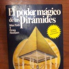 Libros de segunda mano: EL PODER MÁGICO DE LAS PIRÁMIDES - CONTIENE PIRÁMIE EXPERIMENTAL. Lote 151485006