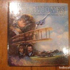 Libros de segunda mano: LIBRO LOS GRANDES AVIONES DEL SIGLO EN 3D MONTENA. Lote 151531622