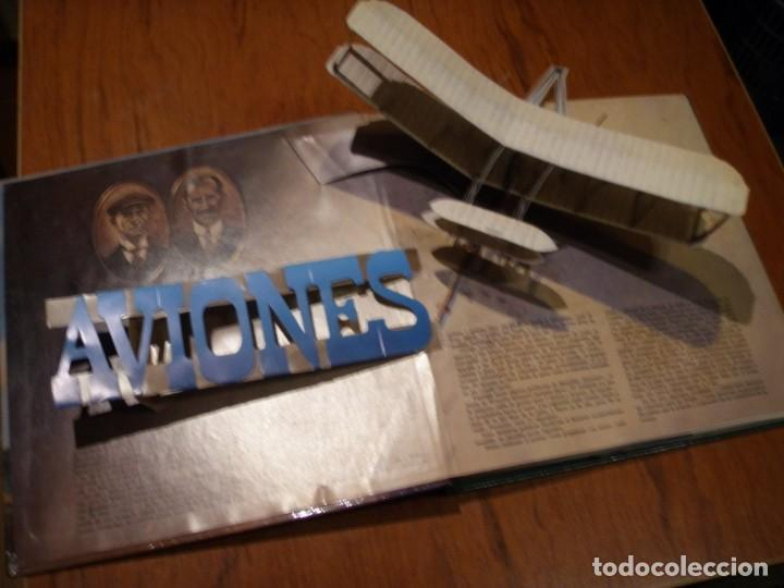 Libros de segunda mano: LIBRO LOS GRANDES AVIONES DEL SIGLO EN 3D MONTENA - Foto 3 - 151531622